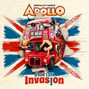 Apollo Varieté - British Invasion mit Artist Marco Noury (Strapate)